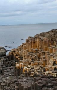 Basaltsäulen am Giant's Causeway