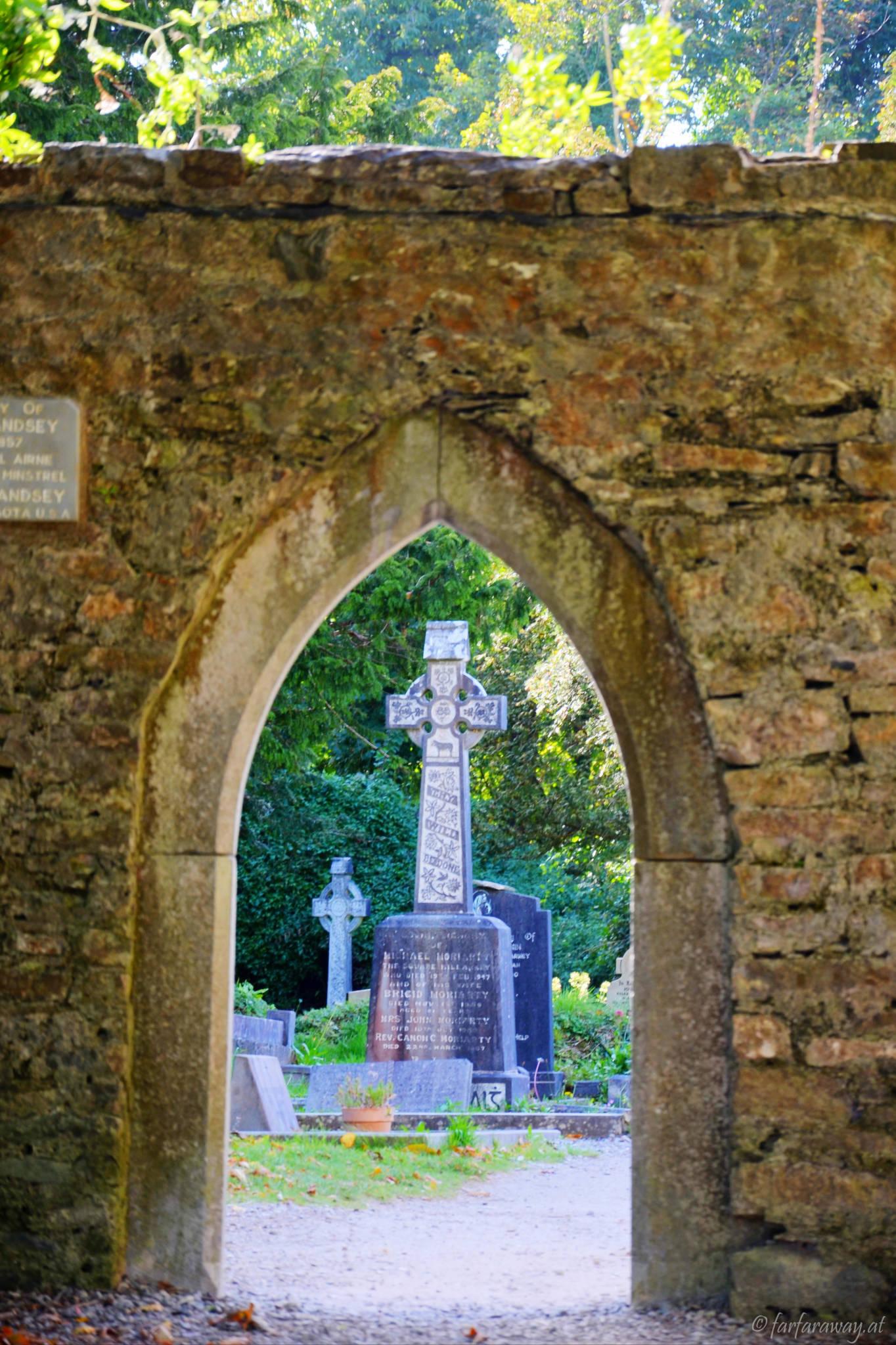 Celtic Cross, Cemetery Muckross Abbey