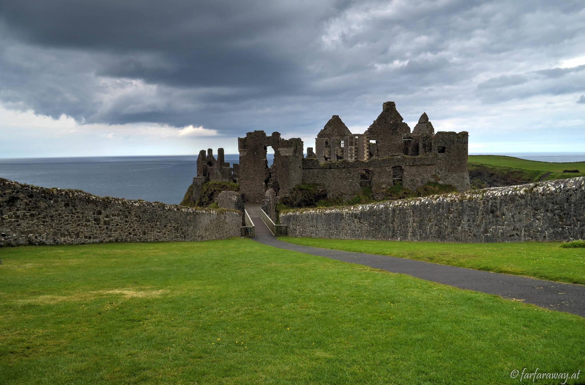 Zugang - Dunluce Castle