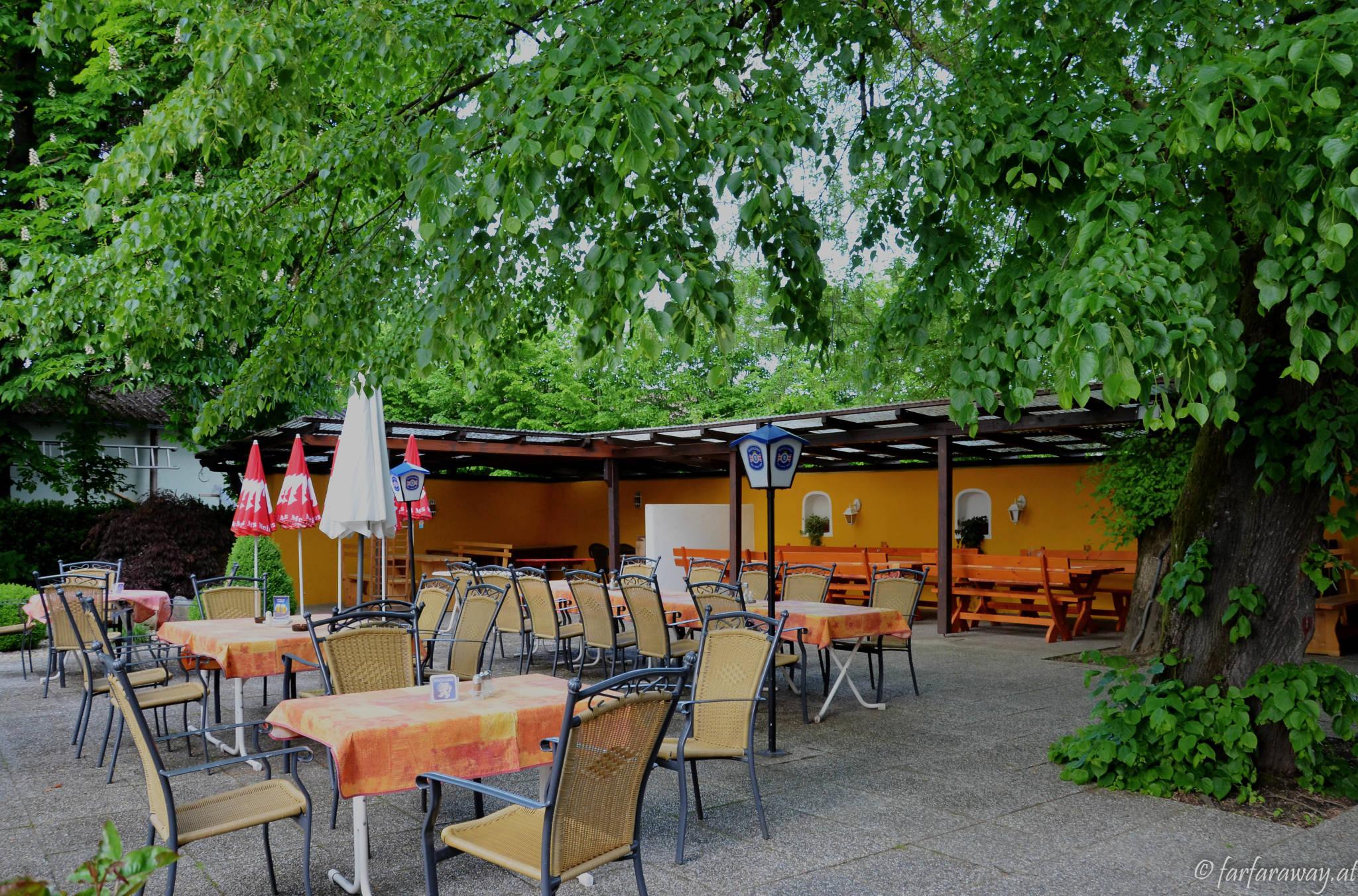 Gastgarten im Burgenlandhof