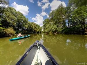 Im Kanu durch den Naturpark