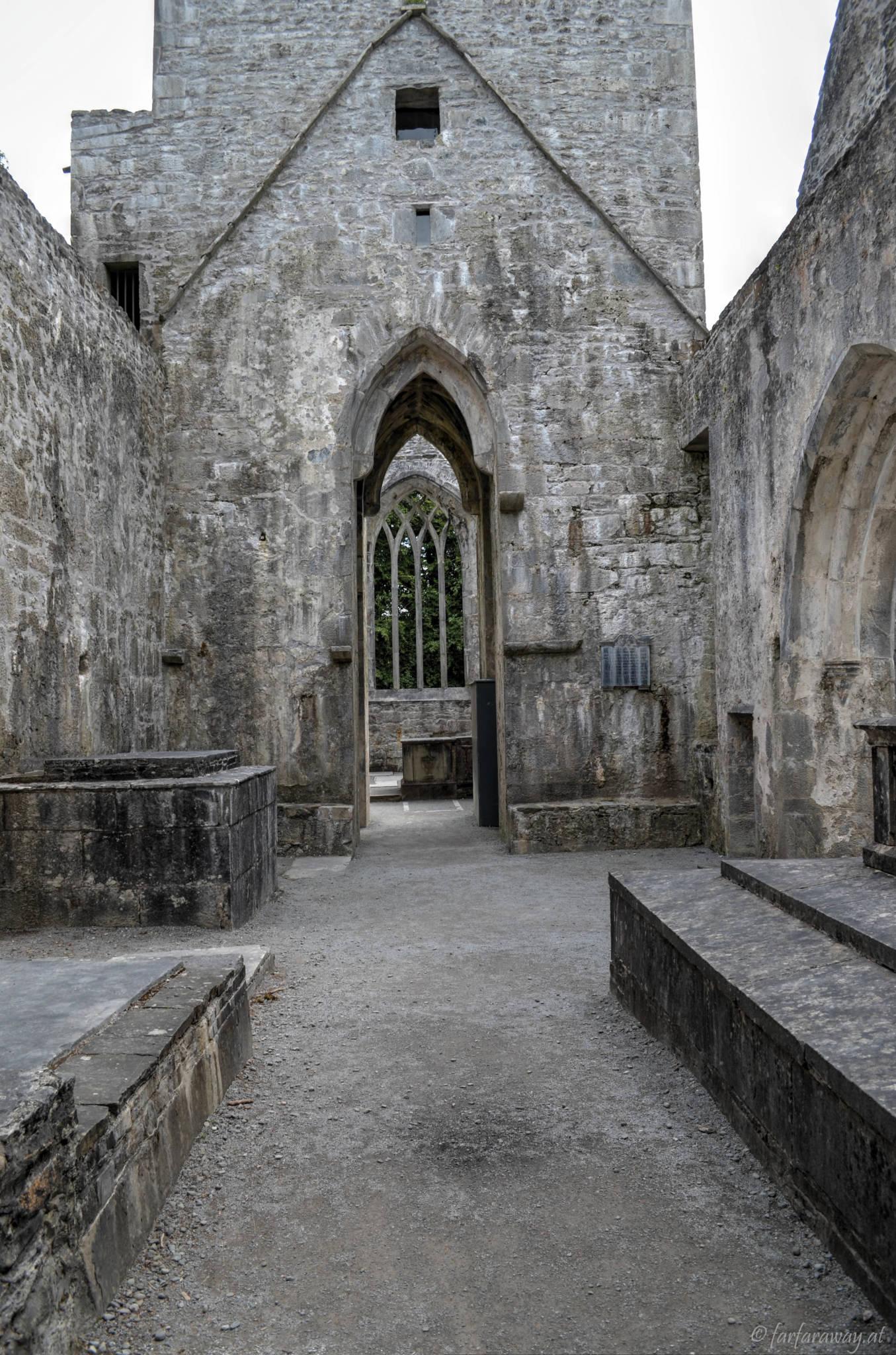 In the monastery, Muckross Abbey