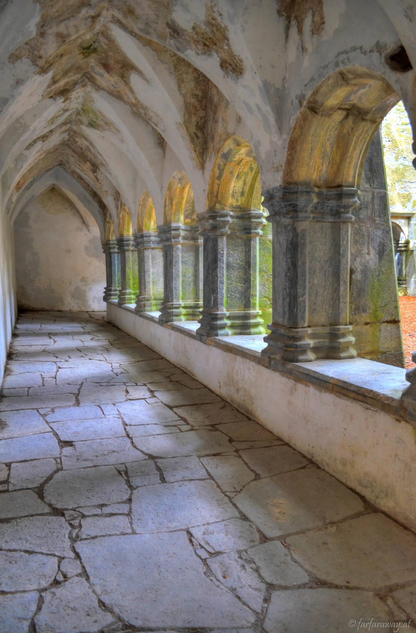 Kreuzgang, Muckross Abbey