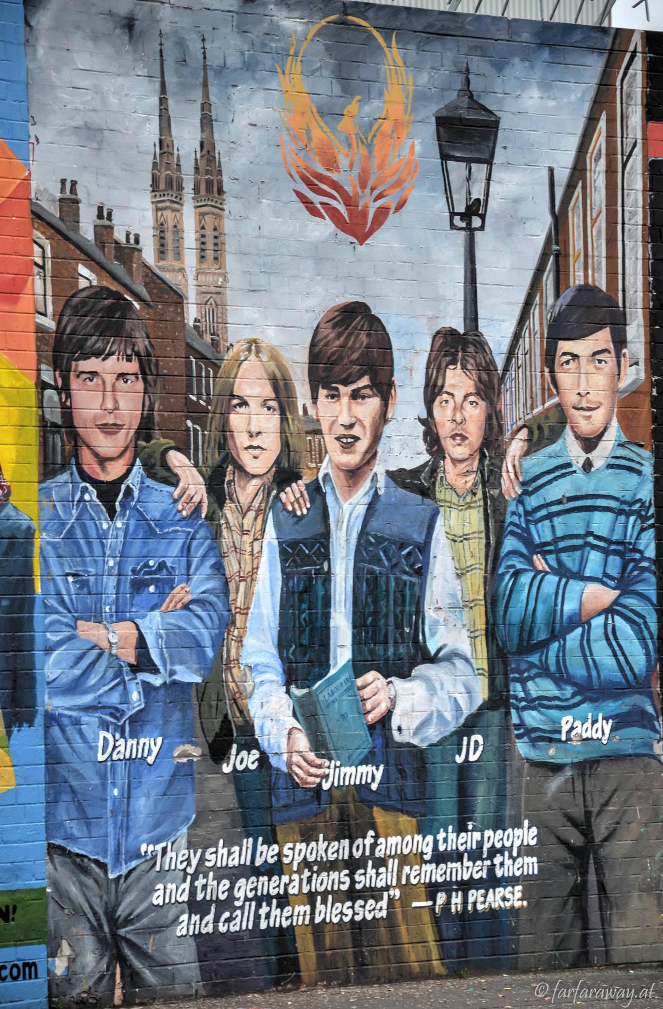 Mural Belfast, The Boys