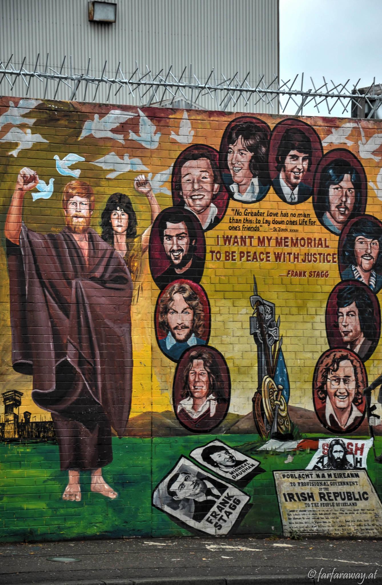 Mural, H Block in Belfast