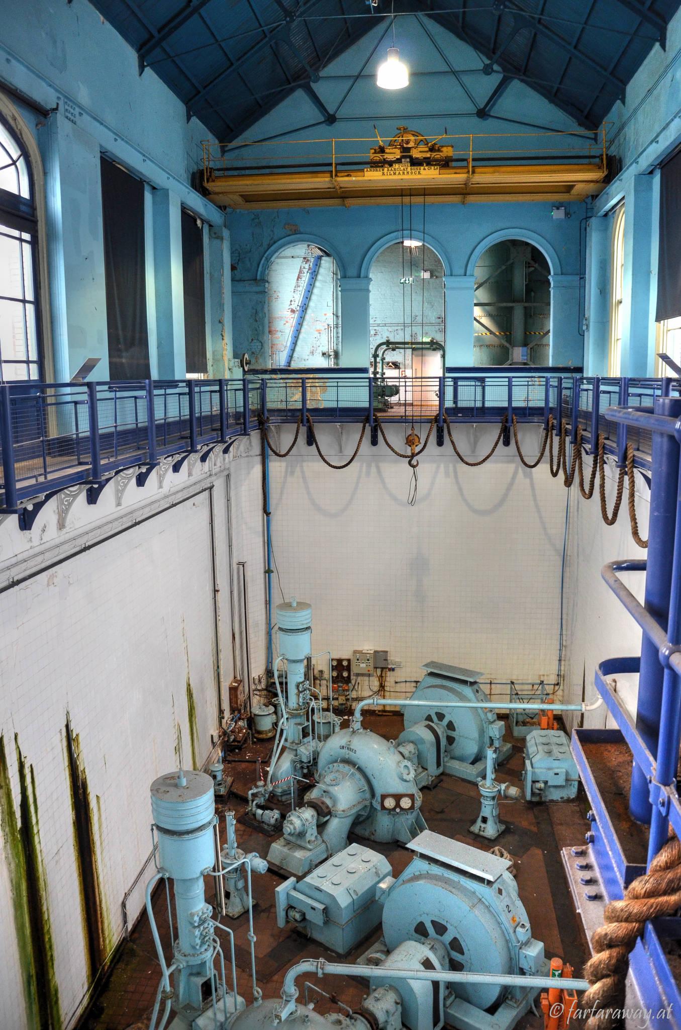 Pumpenhaus am Trockendock der Titanic