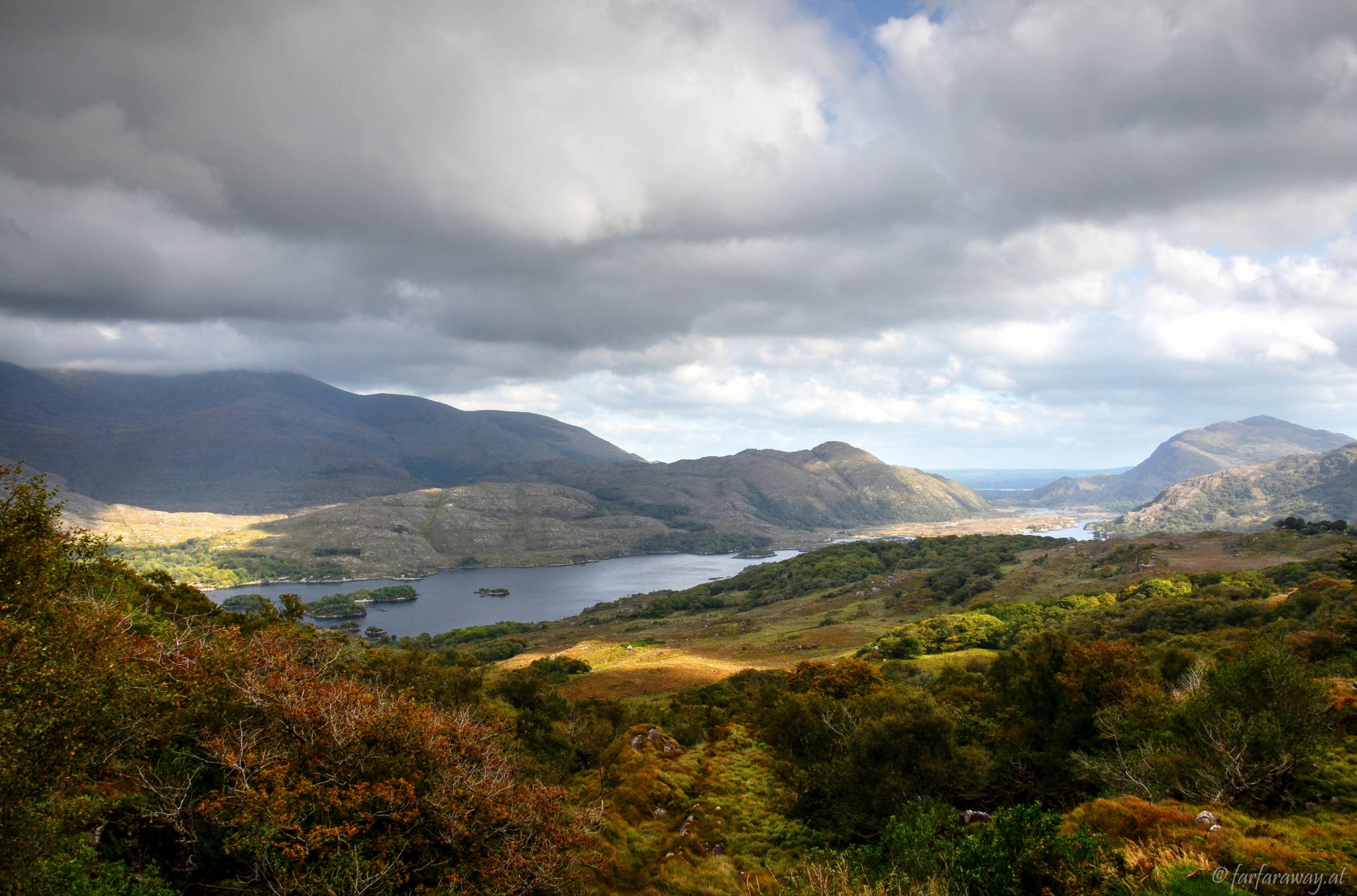 View from Ladys View to the Upper Lake, Killarney Nationalpark