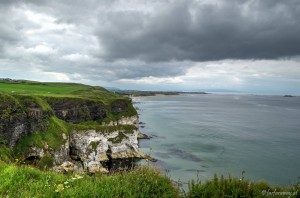 Viewpoint at Dunluce Castle