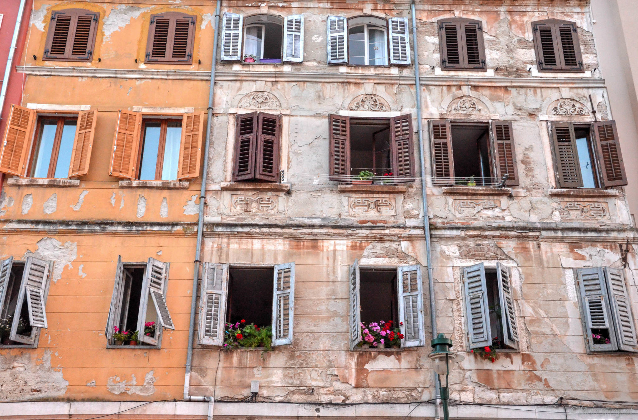 Fassade in Rovinj