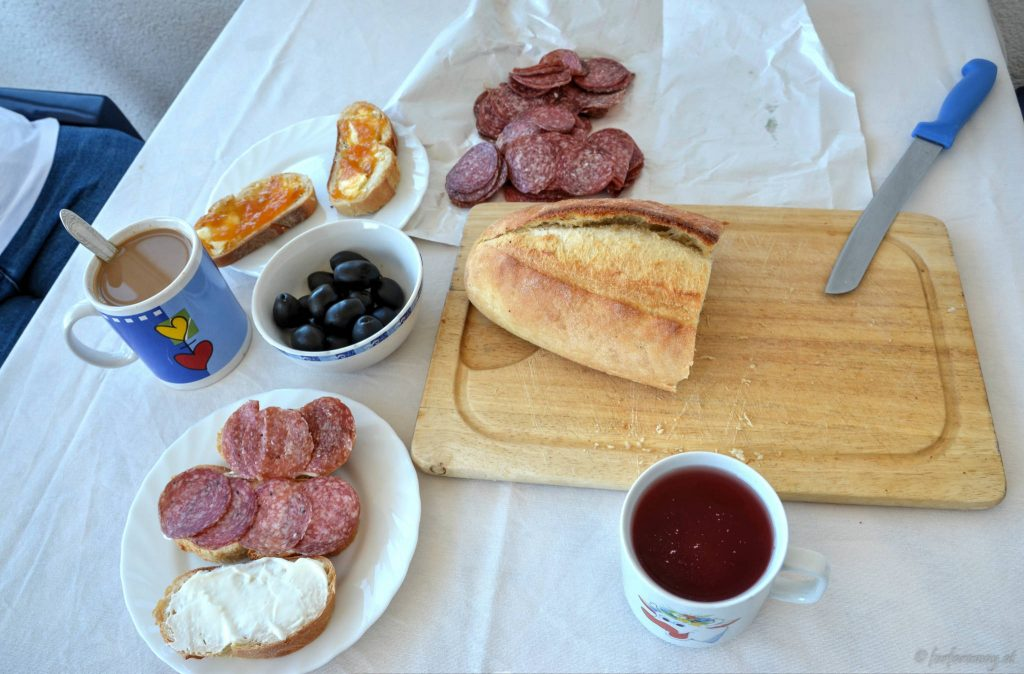 Frühstück in Kroatien