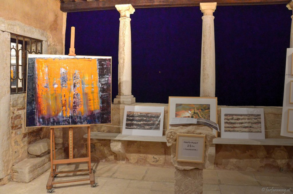 Kunst in einer Kirche aus dem 15.Jh
