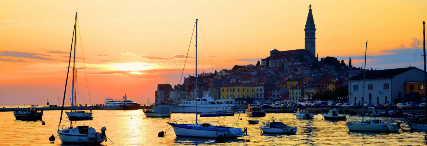Sonne, Strand und Altstadtflair –  Rovinj Kroatien